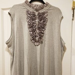 S&D NWT Nordstrom grey sleeveless top